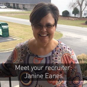 Meet your recruiter: Janine Eanes