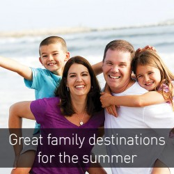 Great destinations to travel with your family this summer